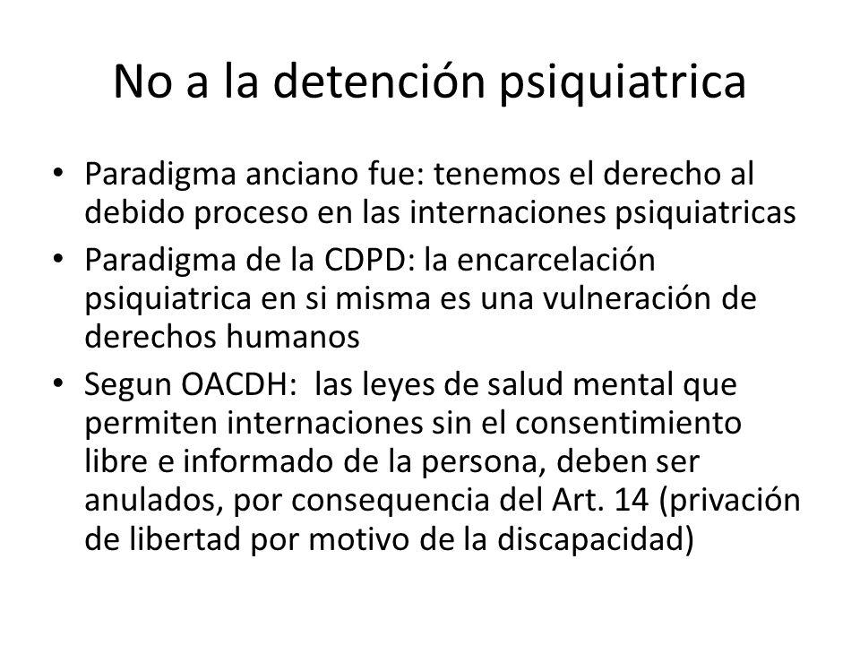 No a la detención psiquiatrica