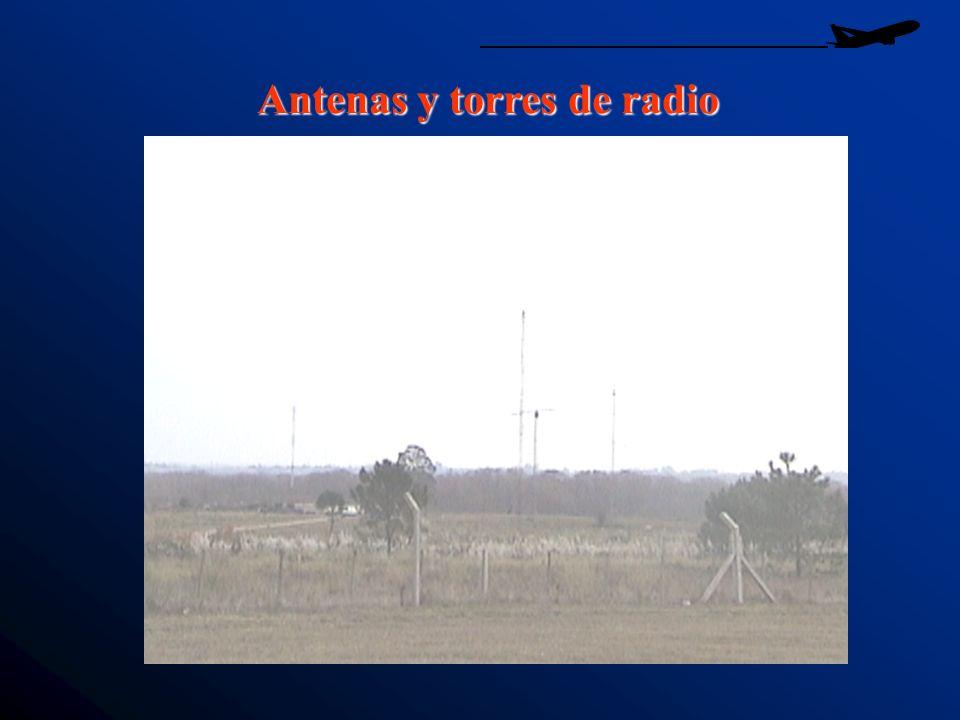 Antenas y torres de radio