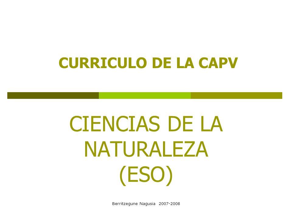 CIENCIAS DE LA NATURALEZA (ESO)