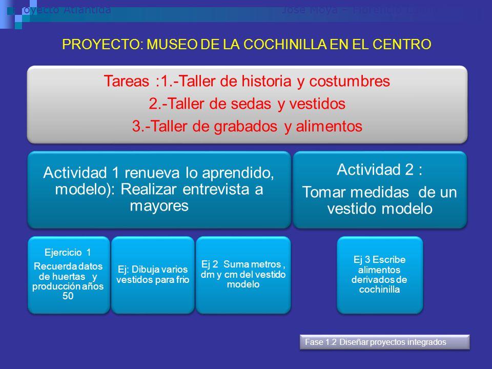 PROYECTO: MUSEO DE LA COCHINILLA EN EL CENTRO