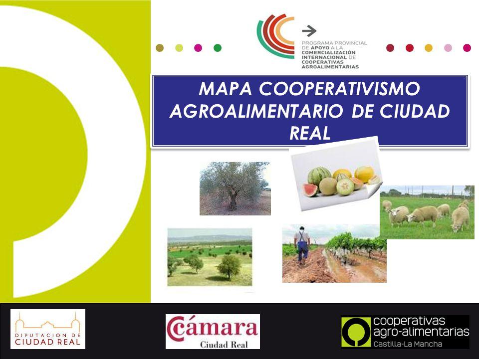 Mapa cooperativismo agroalimentario de ciudad real ppt - Plano de ciudad real ...