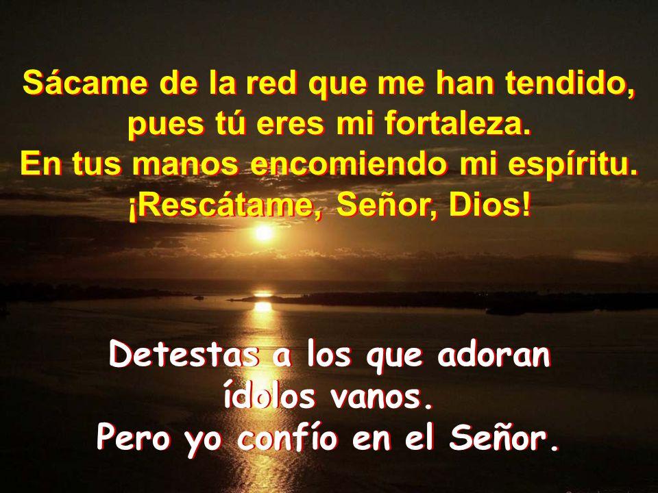 Oramos con el salmo pasionistas ppt descargar for En tus manos senor