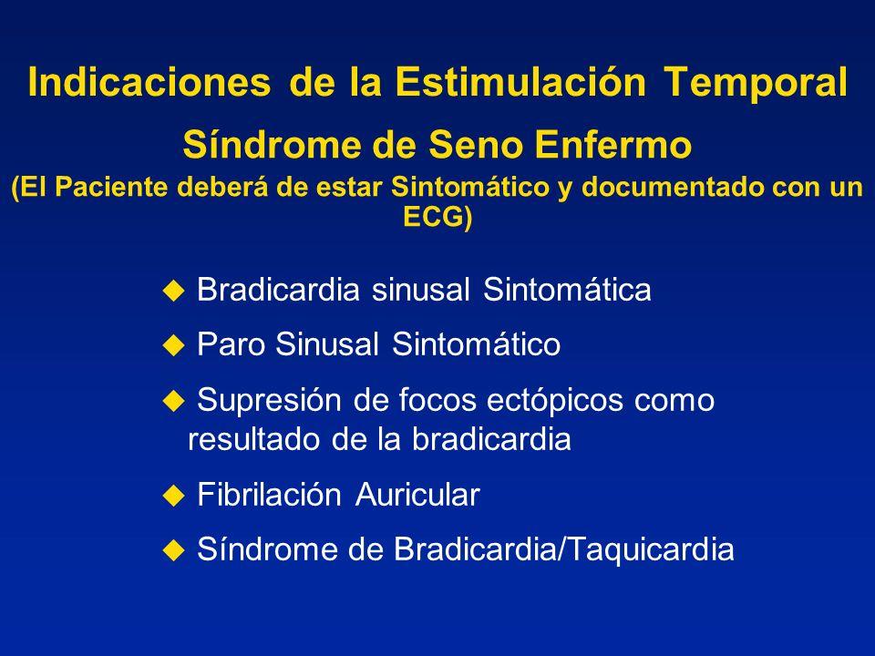 Indicaciones de la Estimulación Temporal