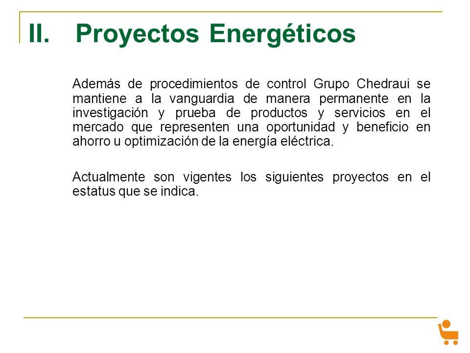 II. Proyectos Energéticos