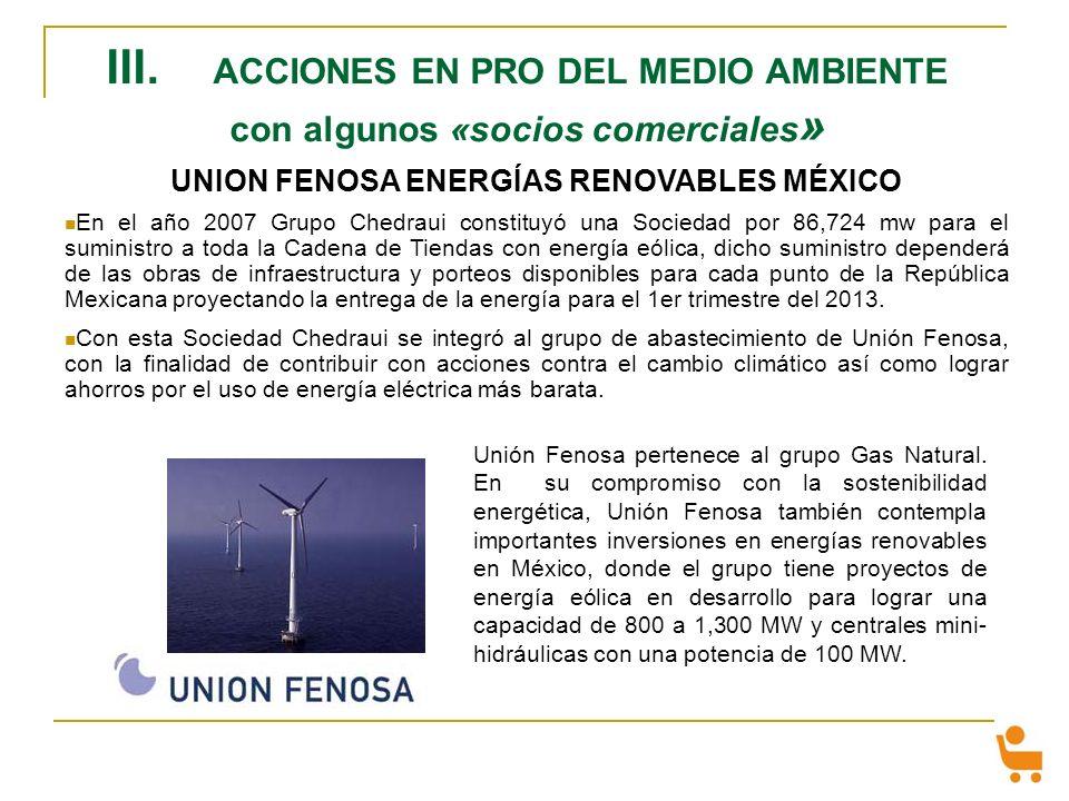 UNION FENOSA ENERGÍAS RENOVABLES MÉXICO