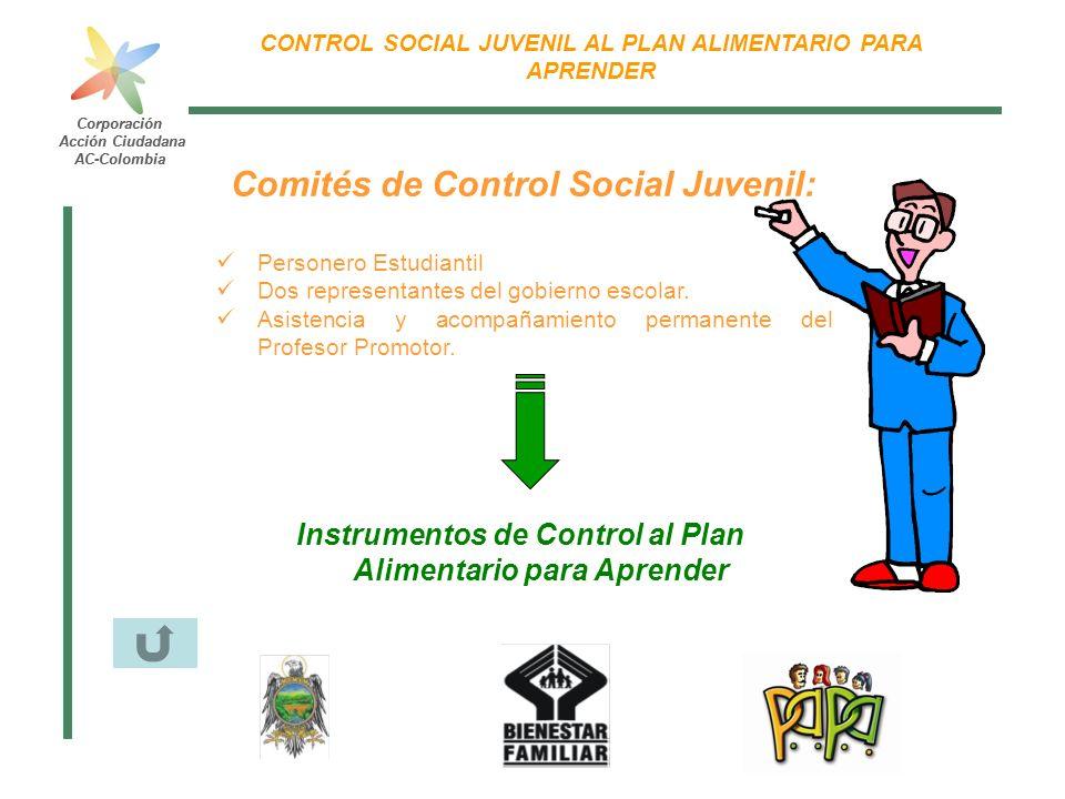 Comités de Control Social Juvenil: