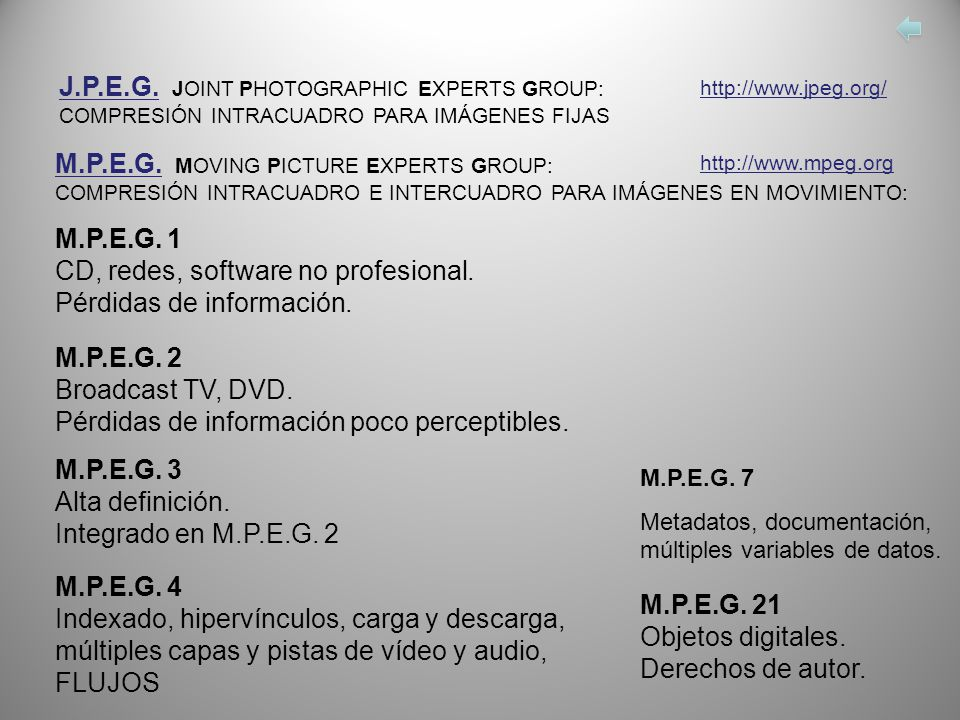 J.P.E.G. JOINT PHOTOGRAPHIC EXPERTS GROUP: