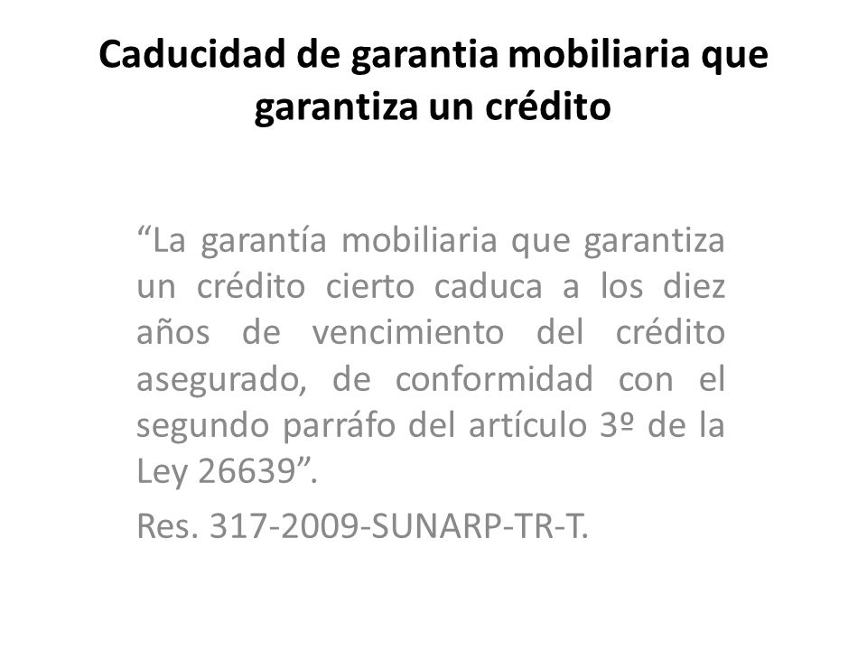 registro mobiliario de contratos ppt descargar