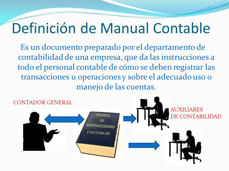 Definición de Manual Contable