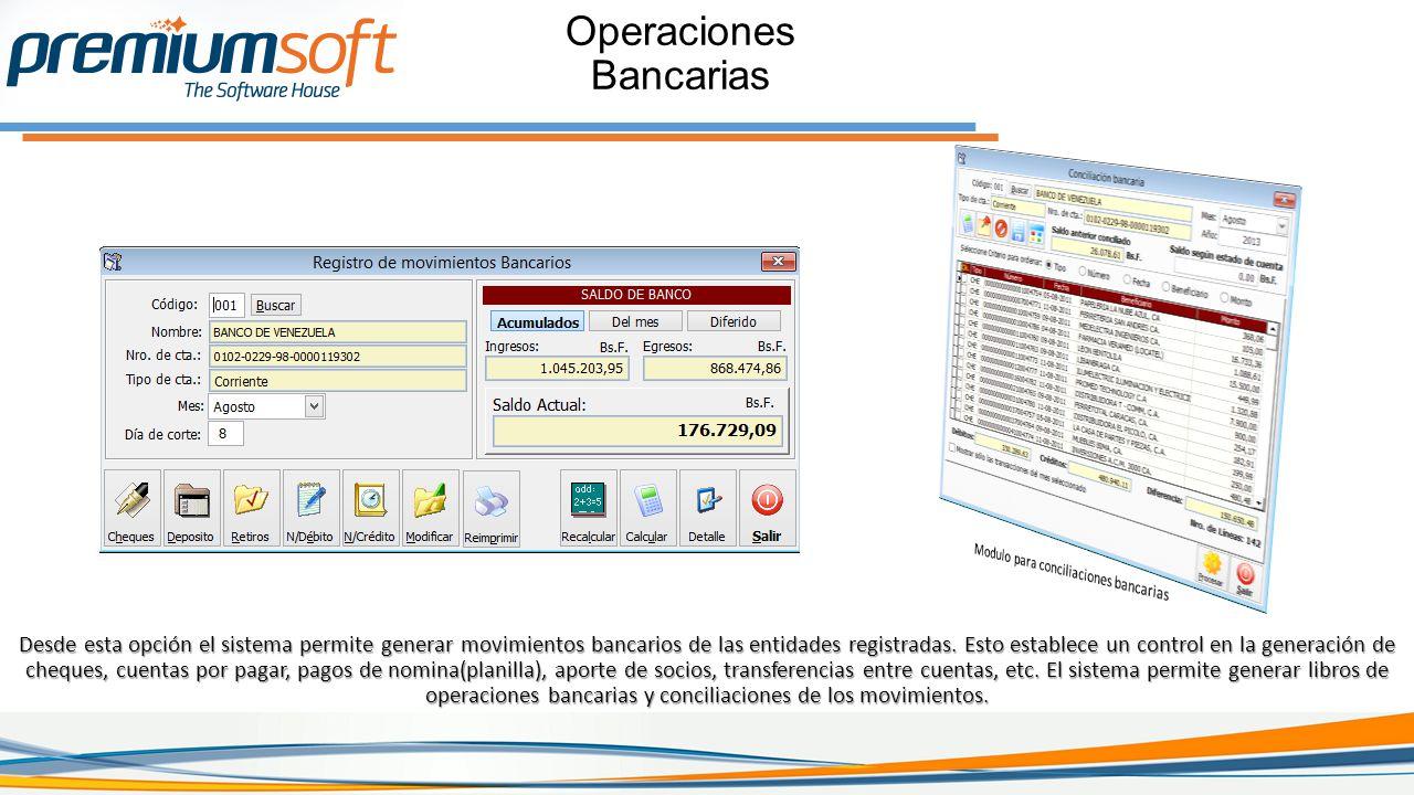 Operaciones Bancarias