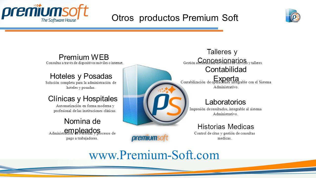 www.Premium-Soft.com Otros productos Premium Soft Premium WEB