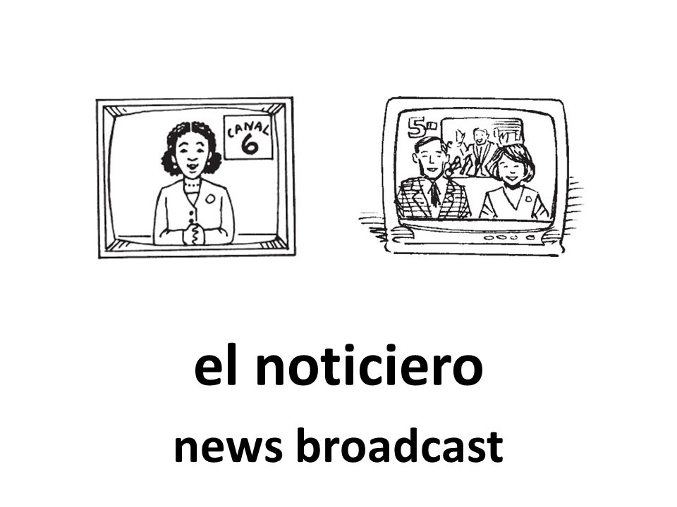el noticiero news broadcast