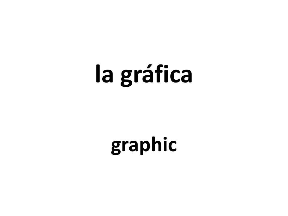 la gráfica graphic