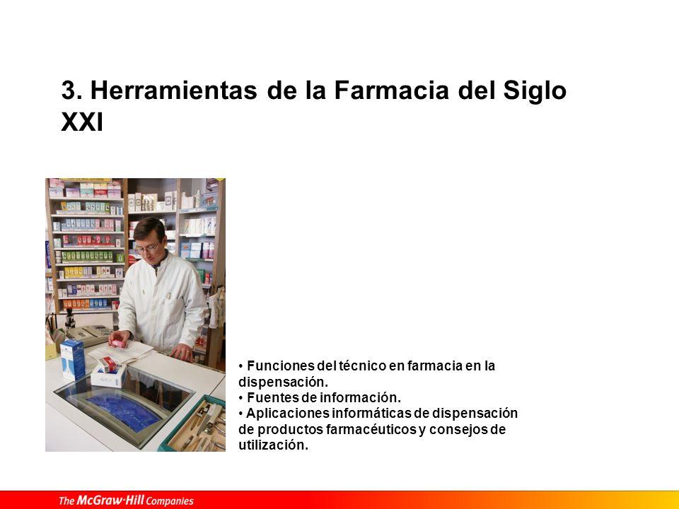 3. Herramientas de la Farmacia del Siglo XXI