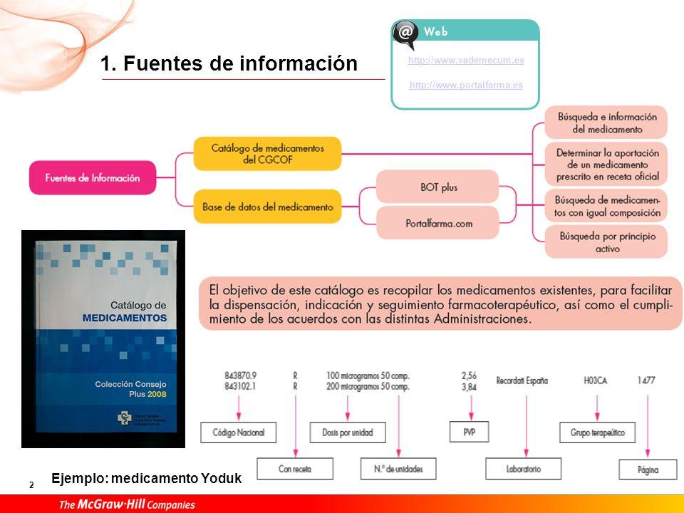 1. Fuentes de información