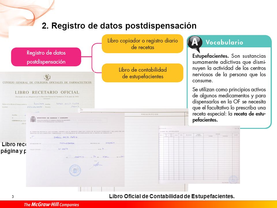 2. Registro de datos postdispensación