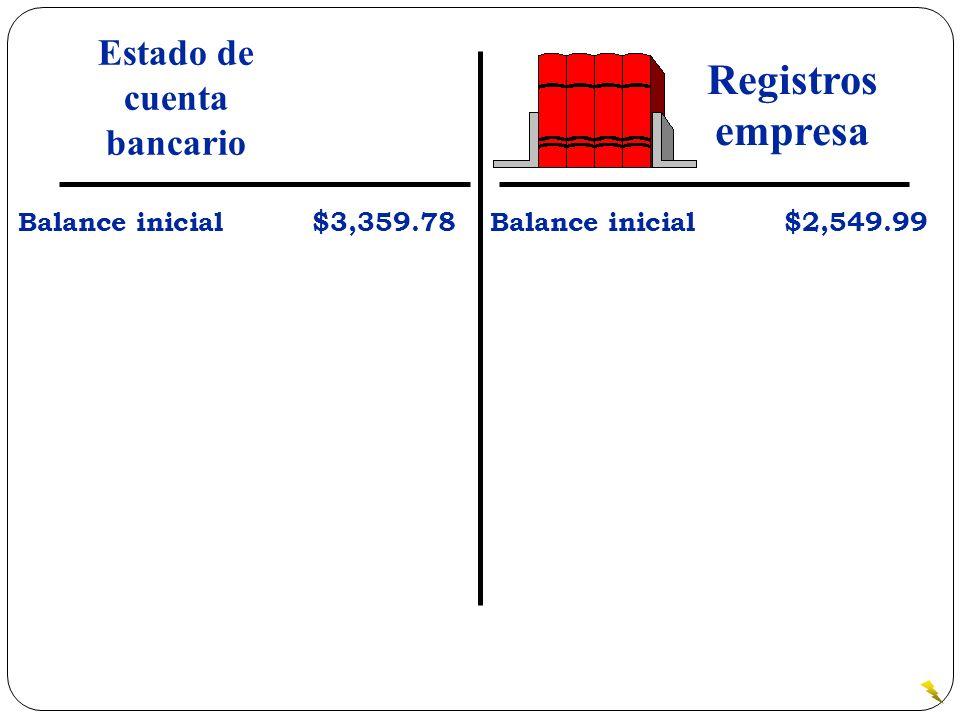 Estado de cuenta bancario