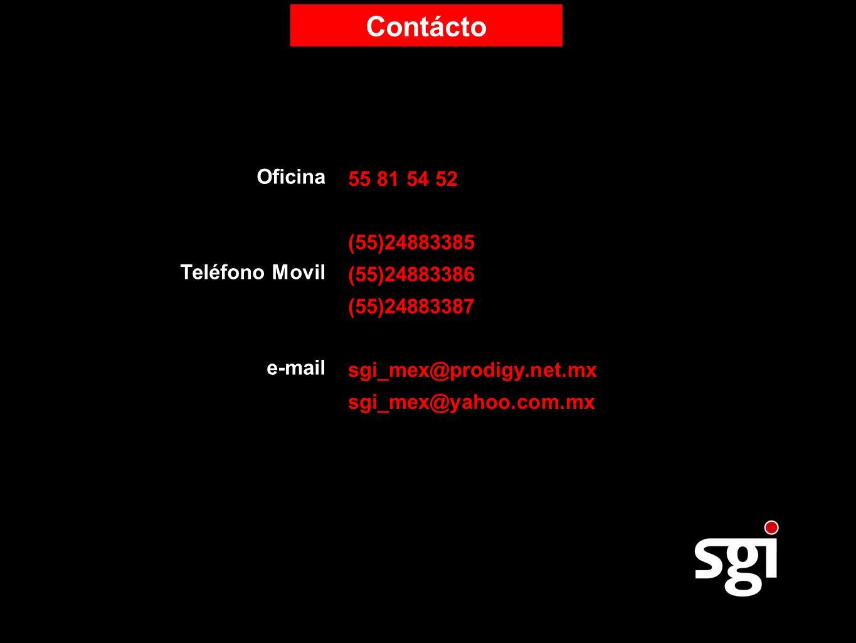 Contácto 55 81 54 52 Oficina (55)24883385 (55)24883386 Teléfono Movil