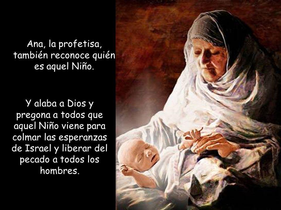 Resultado de imagen de «Alababa a Dios y hablaba del Niño a todos» Ana
