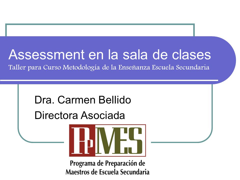 Dra. Carmen Bellido Directora Asociada