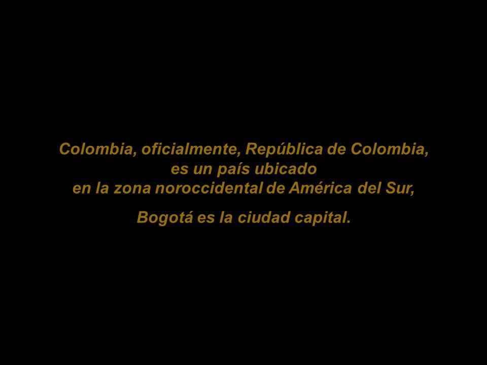 Bogotá es la ciudad capital.