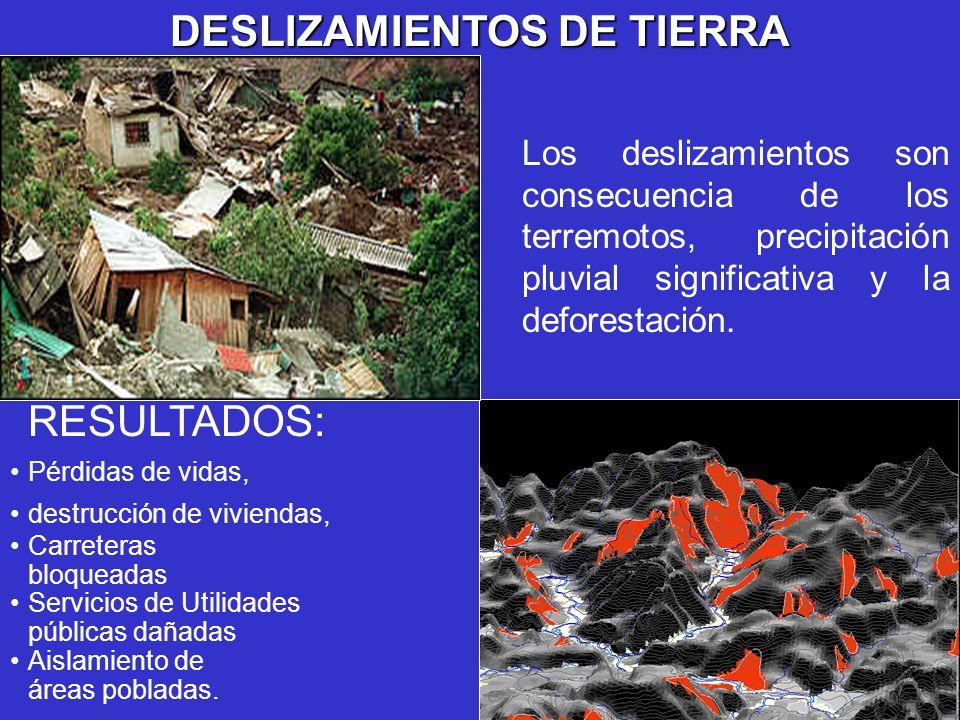 DESLIZAMIENTOS DE TIERRA