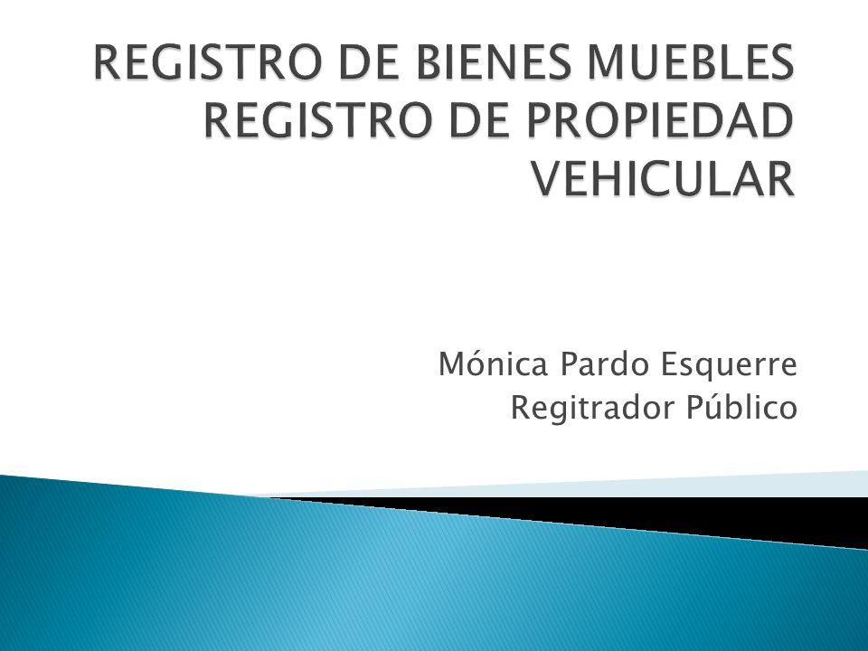 Registro de bienes muebles registro de propiedad vehicular for Registro de bienes muebles sevilla