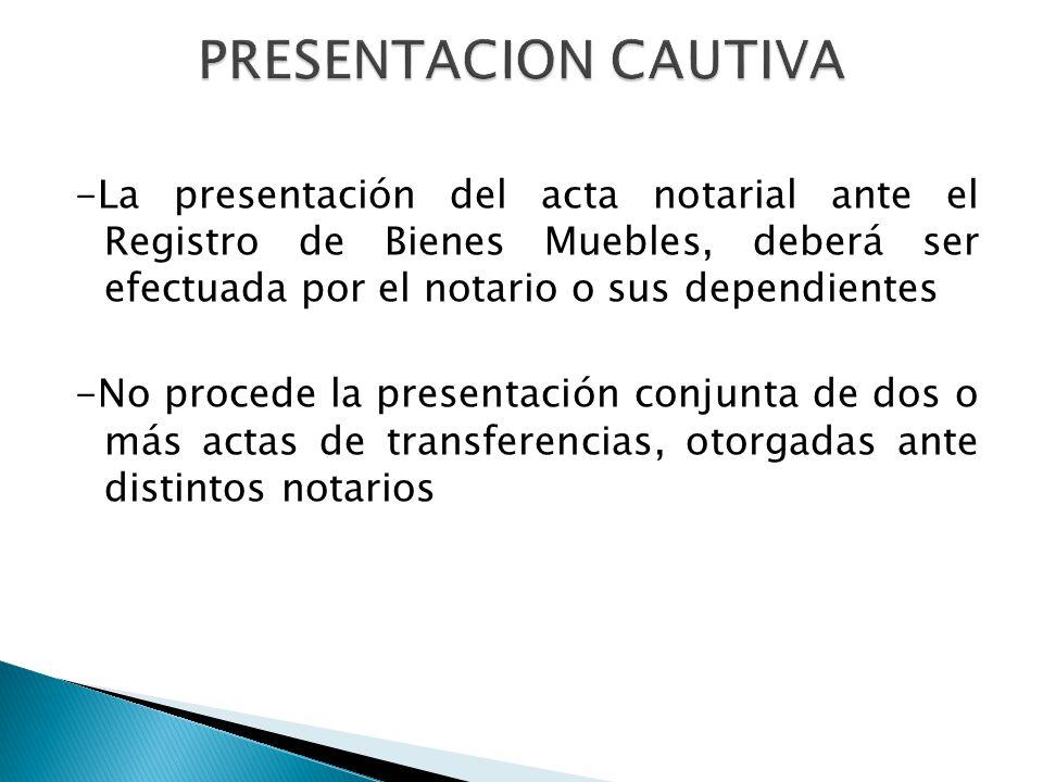 REGISTRO DE BIENES MUEBLES REGISTRO DE PROPIEDAD VEHICULAR - ppt descargar