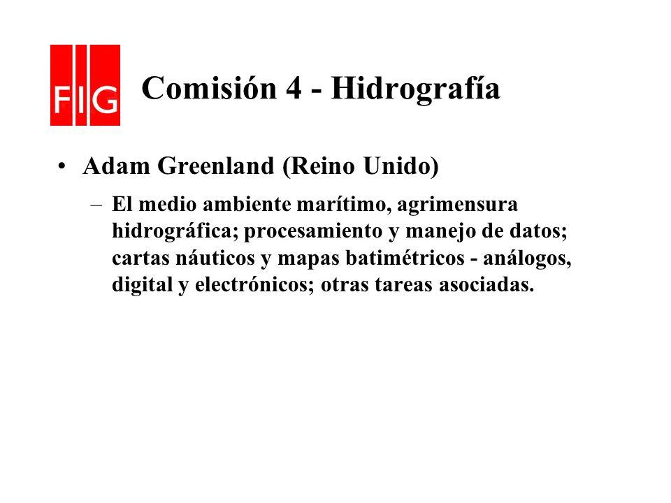 Comisión 4 - Hidrografía