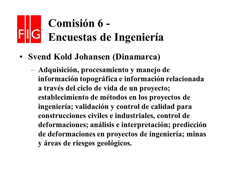 Comisión 6 - Encuestas de Ingeniería