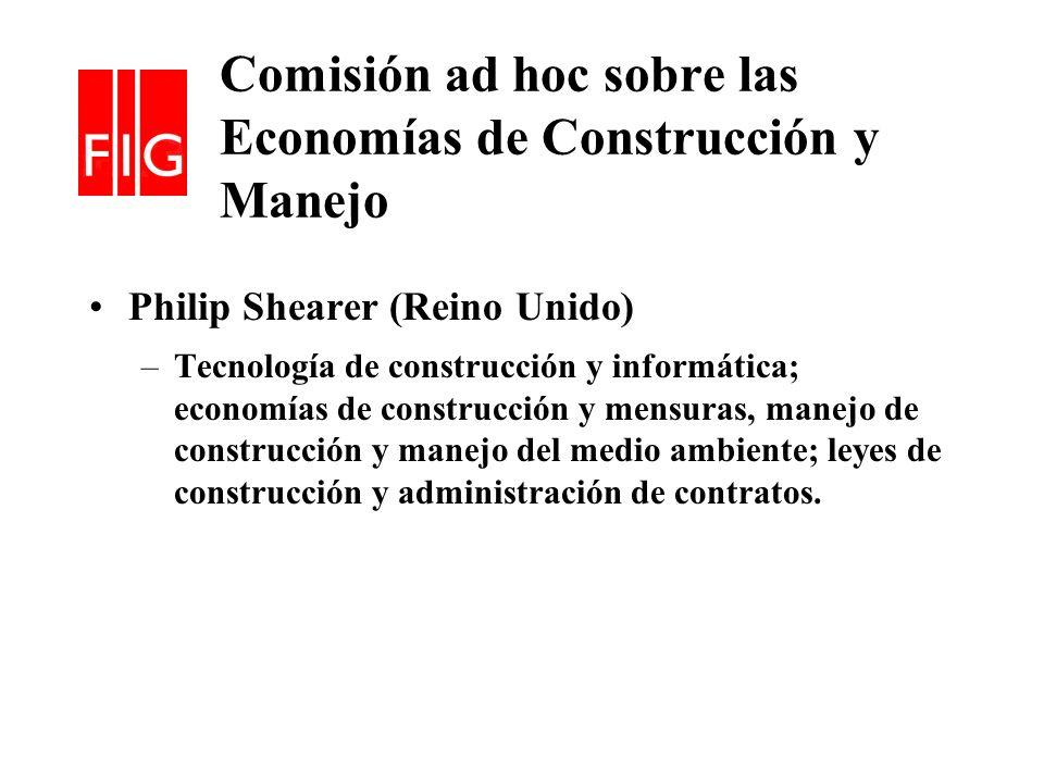 Comisión ad hoc sobre las Economías de Construcción y Manejo