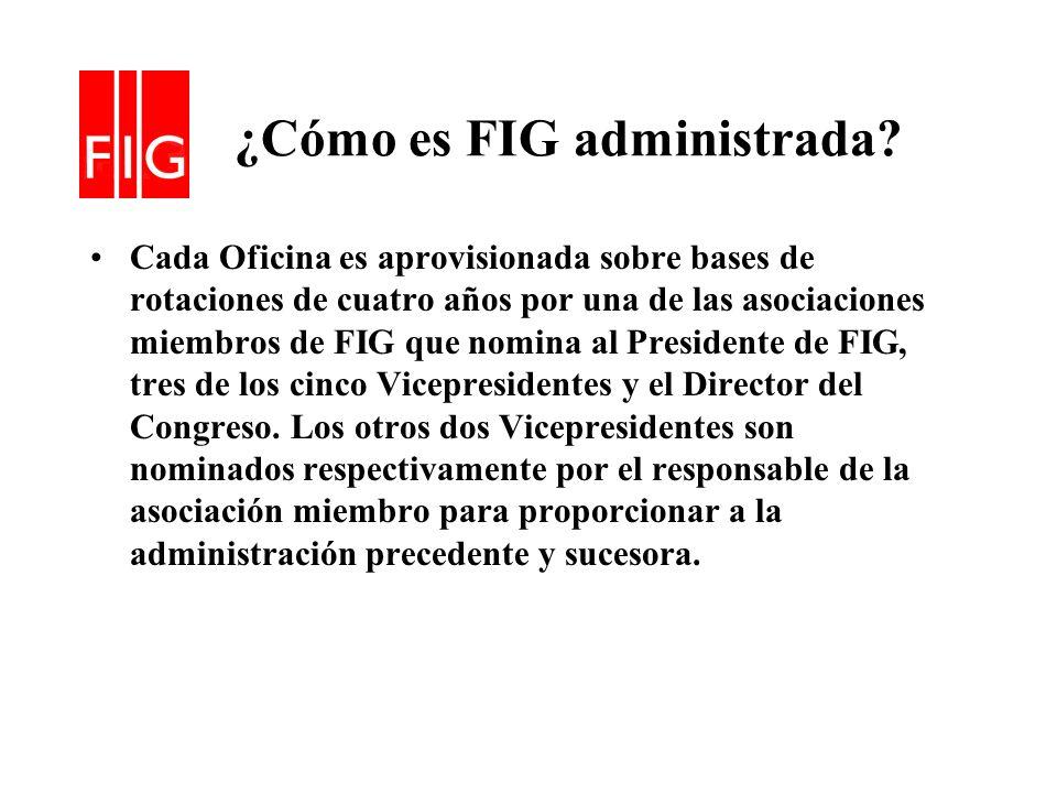 ¿Cómo es FIG administrada