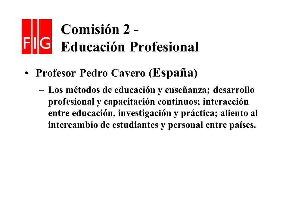 Comisión 2 - Educación Profesional
