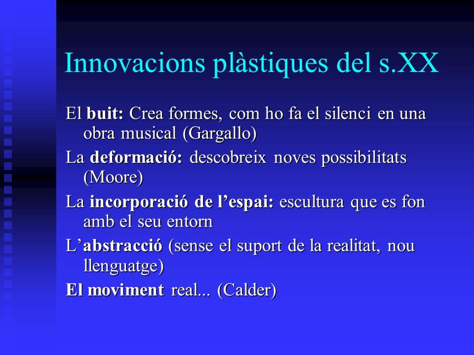 Innovacions plàstiques del s.XX