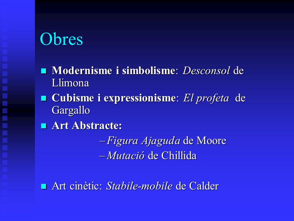Obres Modernisme i simbolisme: Desconsol de Llimona