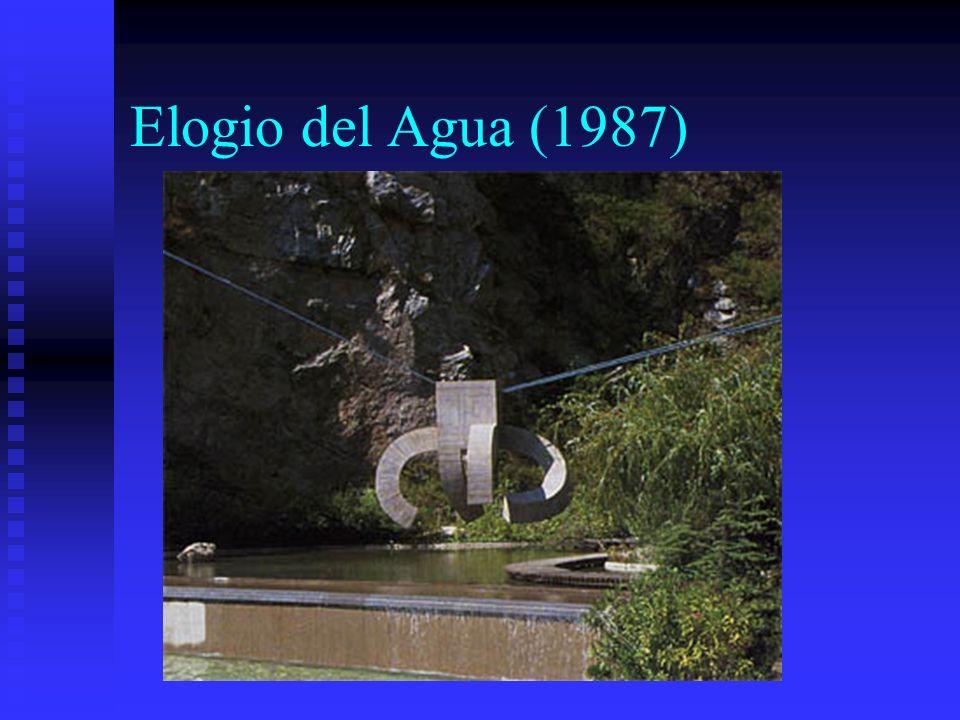 Elogio del Agua (1987)
