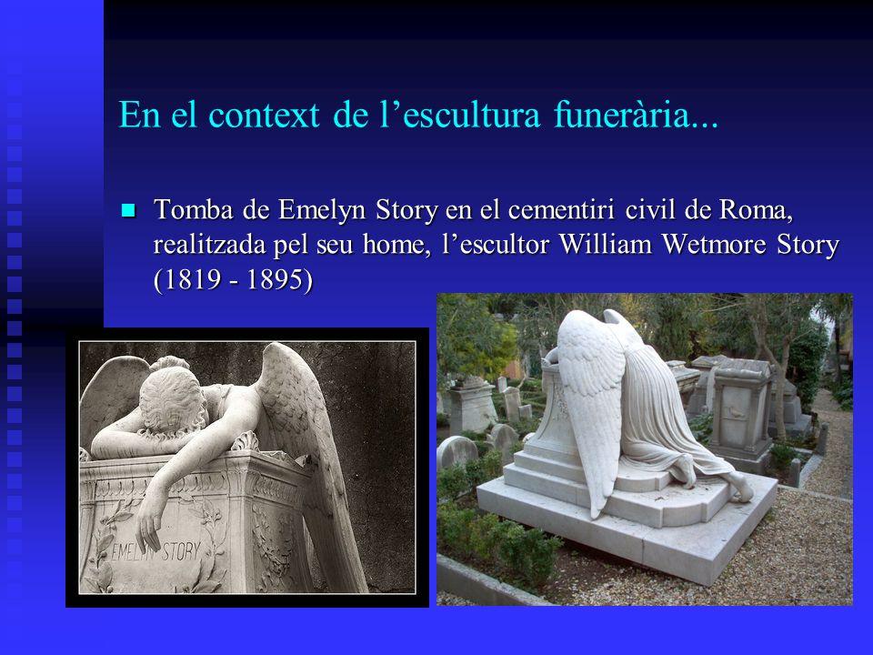 En el context de l'escultura funerària...