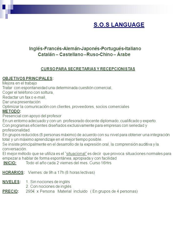 CURSO PARA SECRETARIAS Y RECEPCIONISTAS