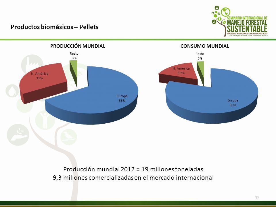 Productos biomásicos – Pellets