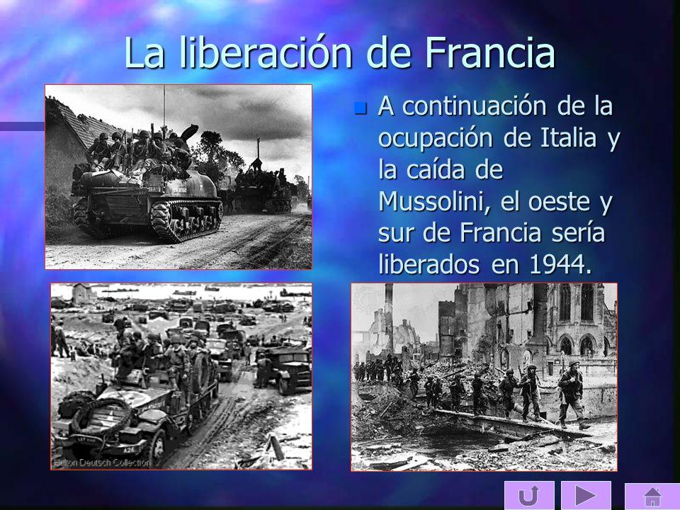 La liberación de Francia