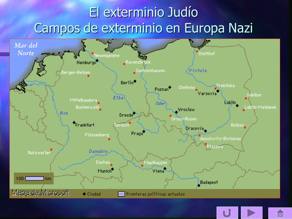 El exterminio Judío Campos de exterminio en Europa Nazi
