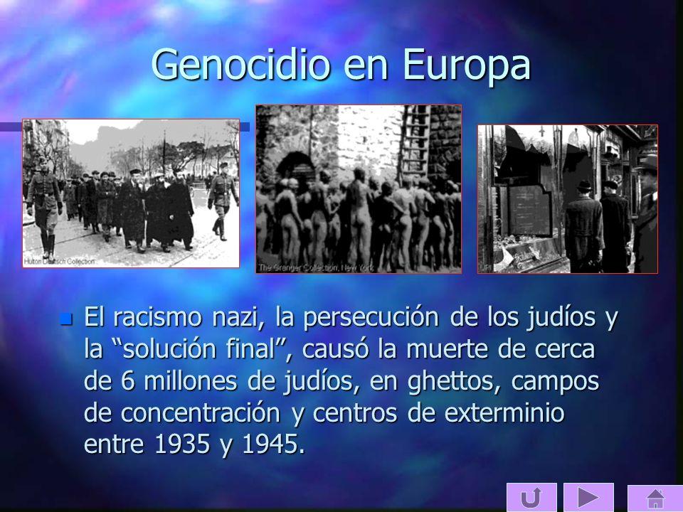 Genocidio en Europa