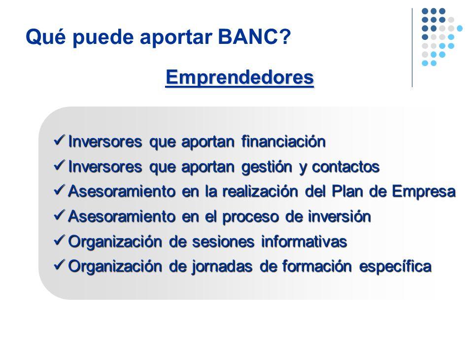 Qué puede aportar BANC Emprendedores
