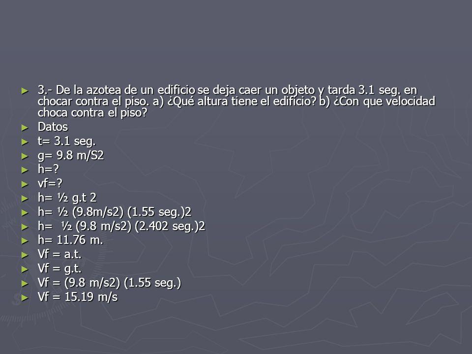 Ecuaciones del movimiento rectilineo mru y mrua ppt - Cuanto tarda un tasador en tasar un piso ...