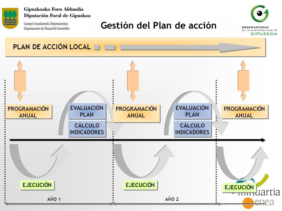 Gestión del Plan de acción