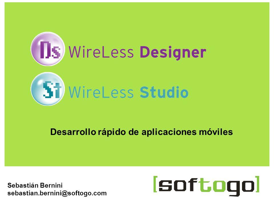 Desarrollo rápido de aplicaciones móviles