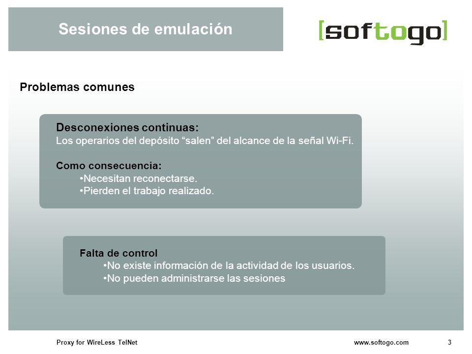 Sesiones de emulación Problemas comunes Desconexiones continuas: