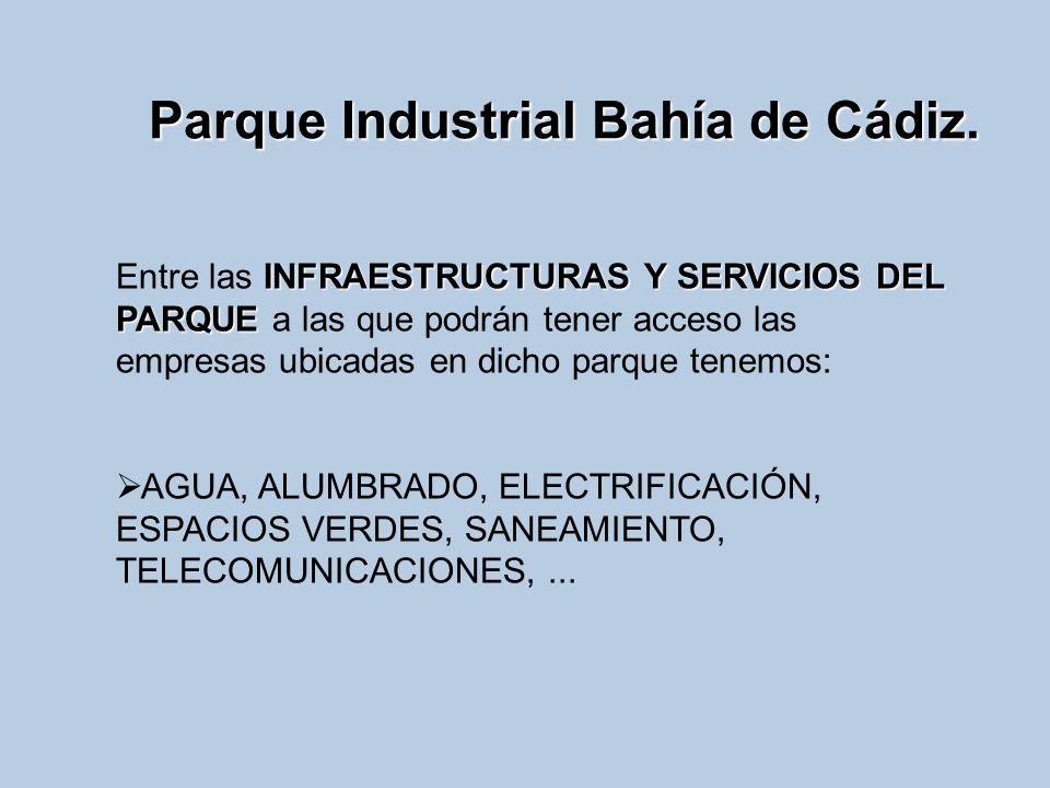 Parque Industrial Bahía de Cádiz.