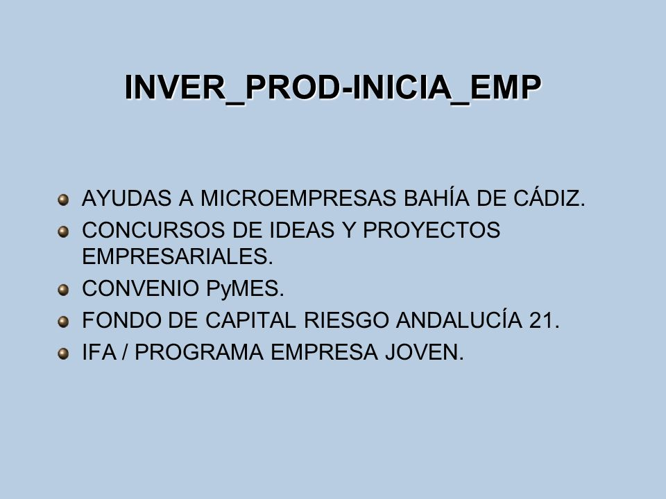 INVER_PROD-INICIA_EMP