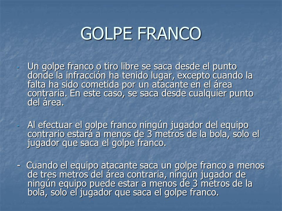 GOLPE FRANCO
